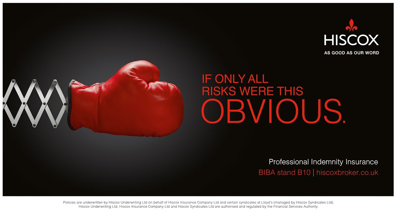 Hiscox Insurance Ads - The Power of Advertisement