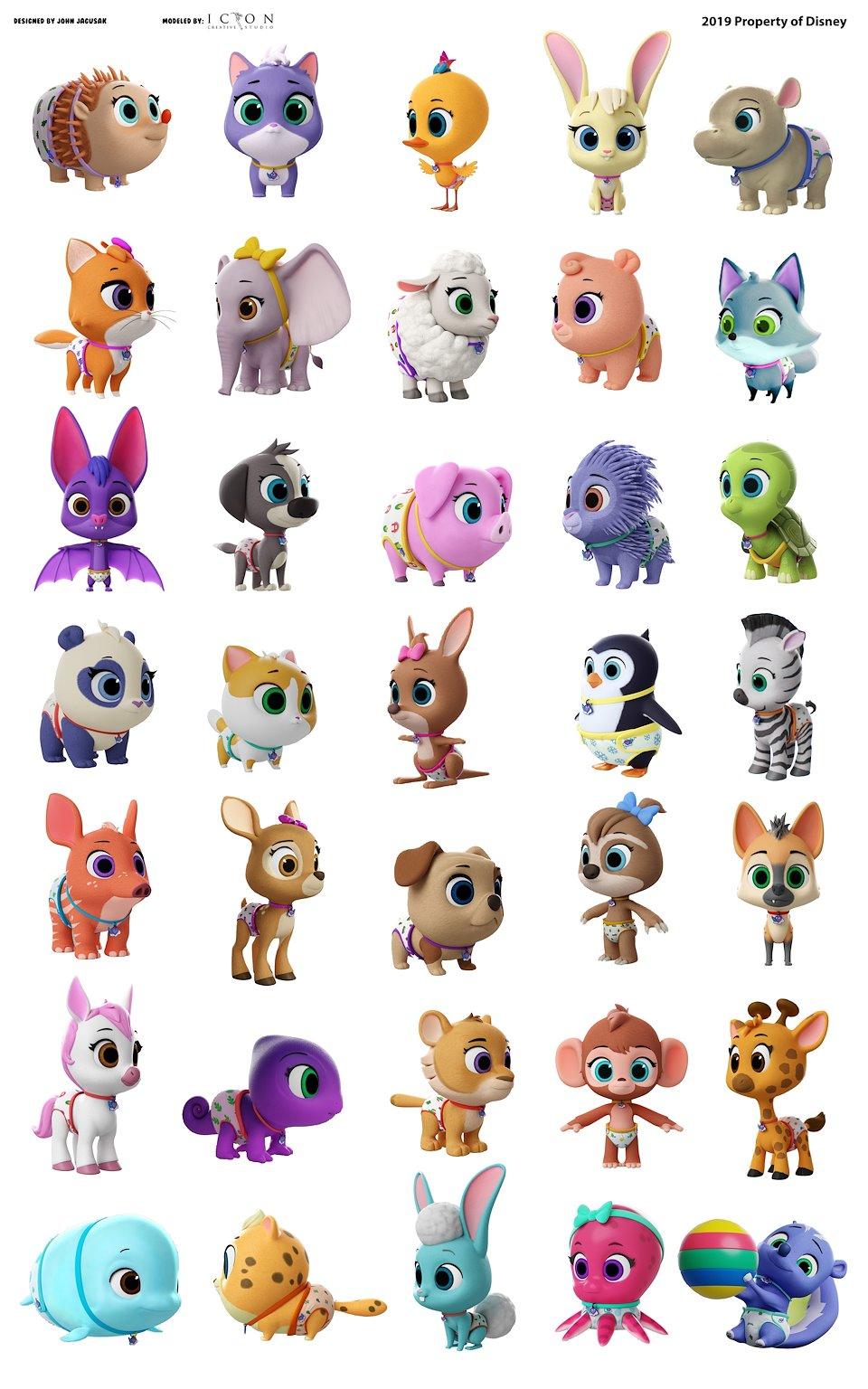 Disney's T.O.T.S. Lead Character Design - John Jagusak