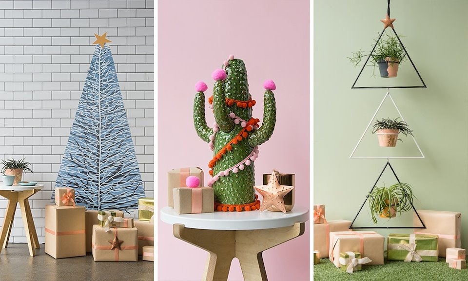 Unconventional Christmas Trees.Content Crafts D I Y Projects Sarah Radhanauth